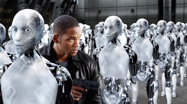 Will Smith might have had an easier time if he'd worked with the robots instead of against them.