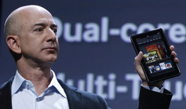 Jeff Bezos' Kindle Fire is finally coming to Canada.