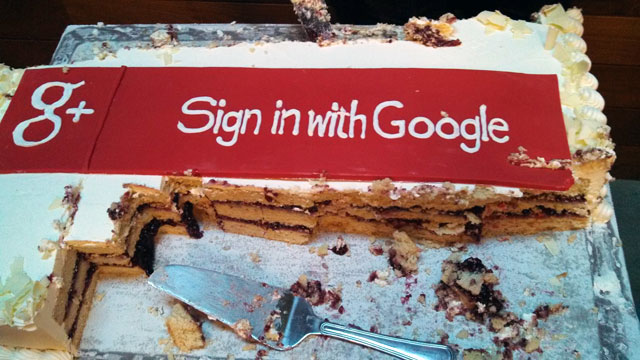 sign-in-google-cake