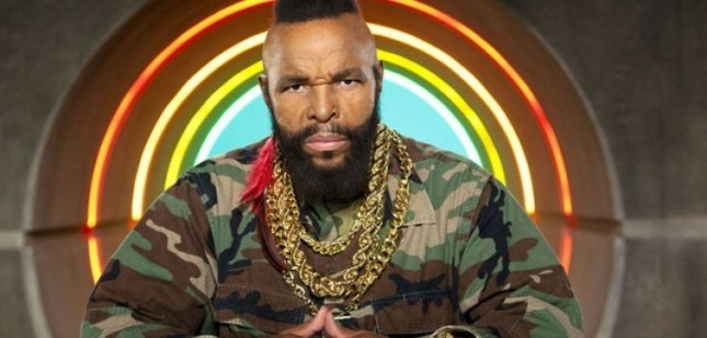 Could the government kill Mr. T's new show? One can only hope.