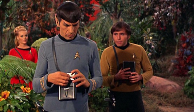 """Chekov, I believe these chocolate bars are safe to eat."""