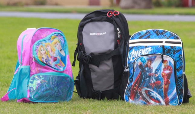 This is what kids' backpacks are supposed to look like, right?