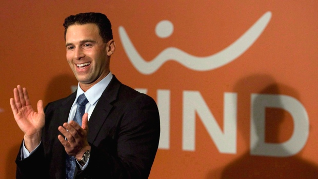 Wind CEO Anthony Lacavera, in happier times.