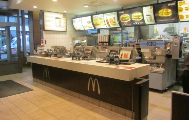 Empty McDonald's: a good thing?
