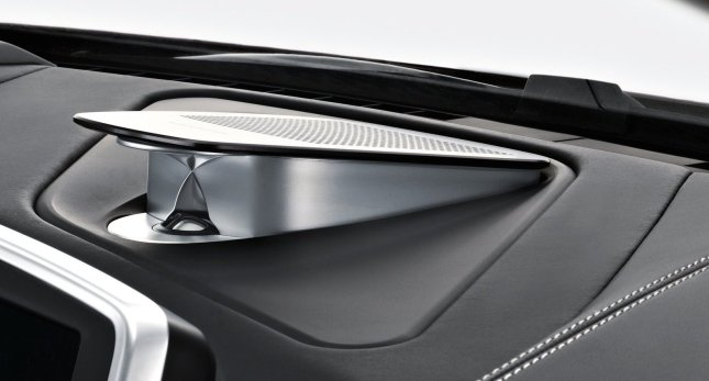 BMW's dashboard-mounted tweeter makes for some sweet driving sounds.