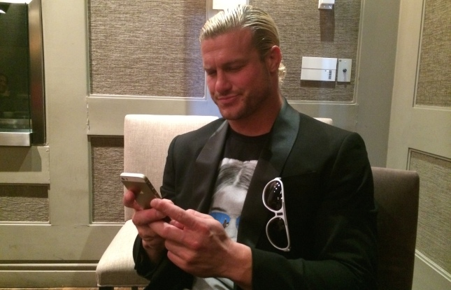 WWE superstar Dolph Ziggler uses Twitter to practice stand-up material.